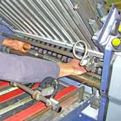caring for your folding machine rollers